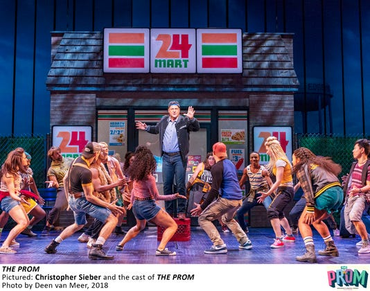 5 758 5399 Christopher Sieber And The Cast In The Prom Photo By Deen Van Meer 2018