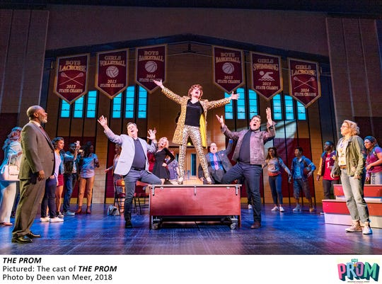 "The cast of ""The Prom"" on Broadway."