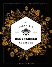 The Asheville Bee Charmer Cookbook is available at The Asheville Bee Charmer store, which also carries a number of honey- and pollinator-related retail goods, for a bee-themed holiday package.