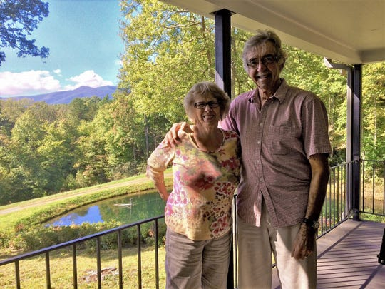 Marcia and Jim Verbrugge sold 123 acres of their land on Brushy Mountain in Black Mountain to the SAHC for permanent conservation.
