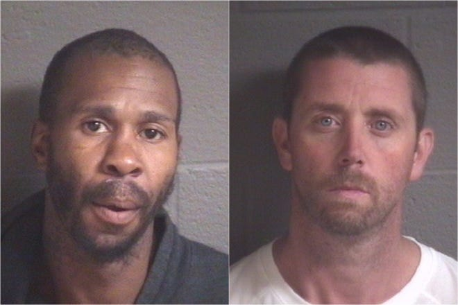 Marcellus Thomas Miguel Ruff, left, and Donald Henry Taylor