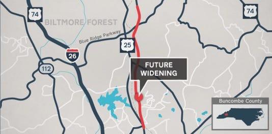 Sweeten Creek Road Map