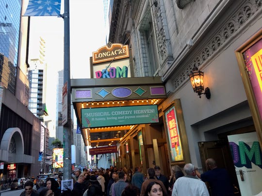 """""""The Prom,"""" located at the Longacre Theatre at the Longacre Theatre at 220 W. 48th St. in New York City, offers $40 rush tickets."""