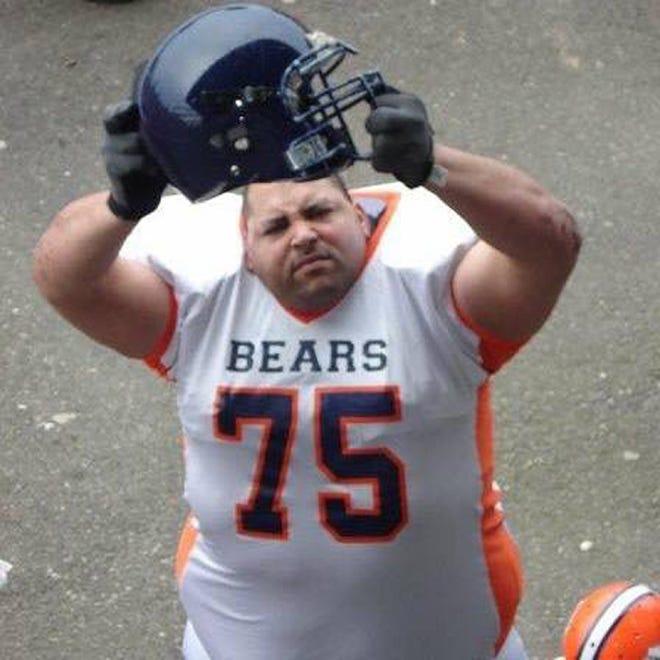 Walter Brown in a Kitsap County Bears uniform.