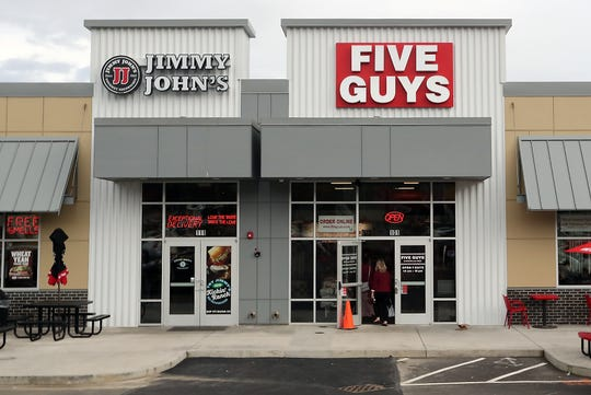 Five Guys Burgers and Fries in Silverdale is officially open.