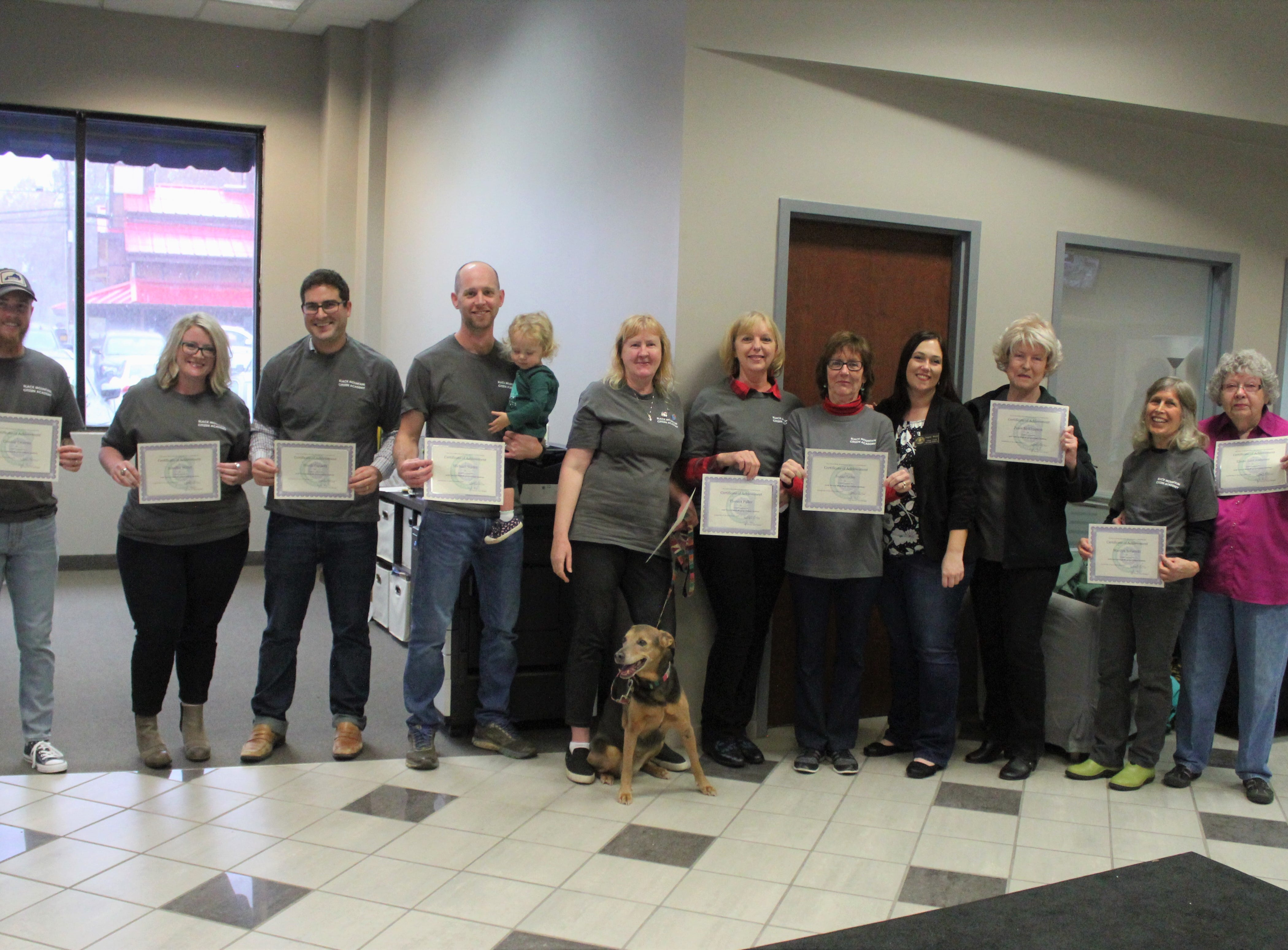 Town recognizes graduates of first Citizens Academy
