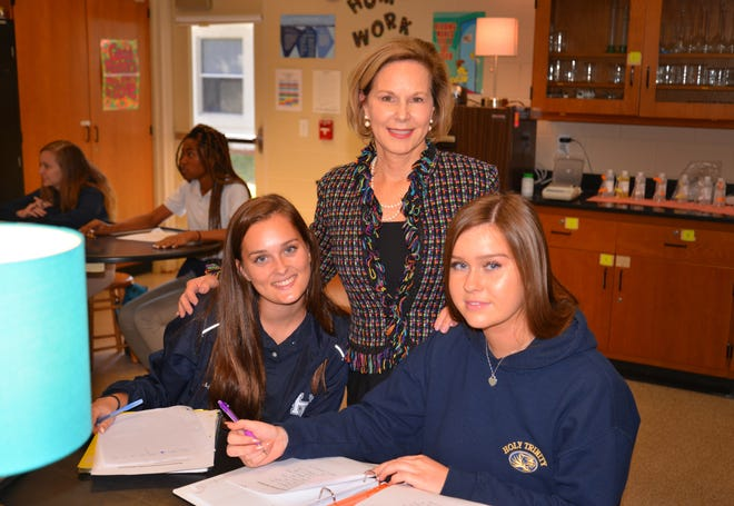 Dr. Katherine Cobb, president of Holy Trinity Episcopal Academy, has been nominated for Citizen of the Year.