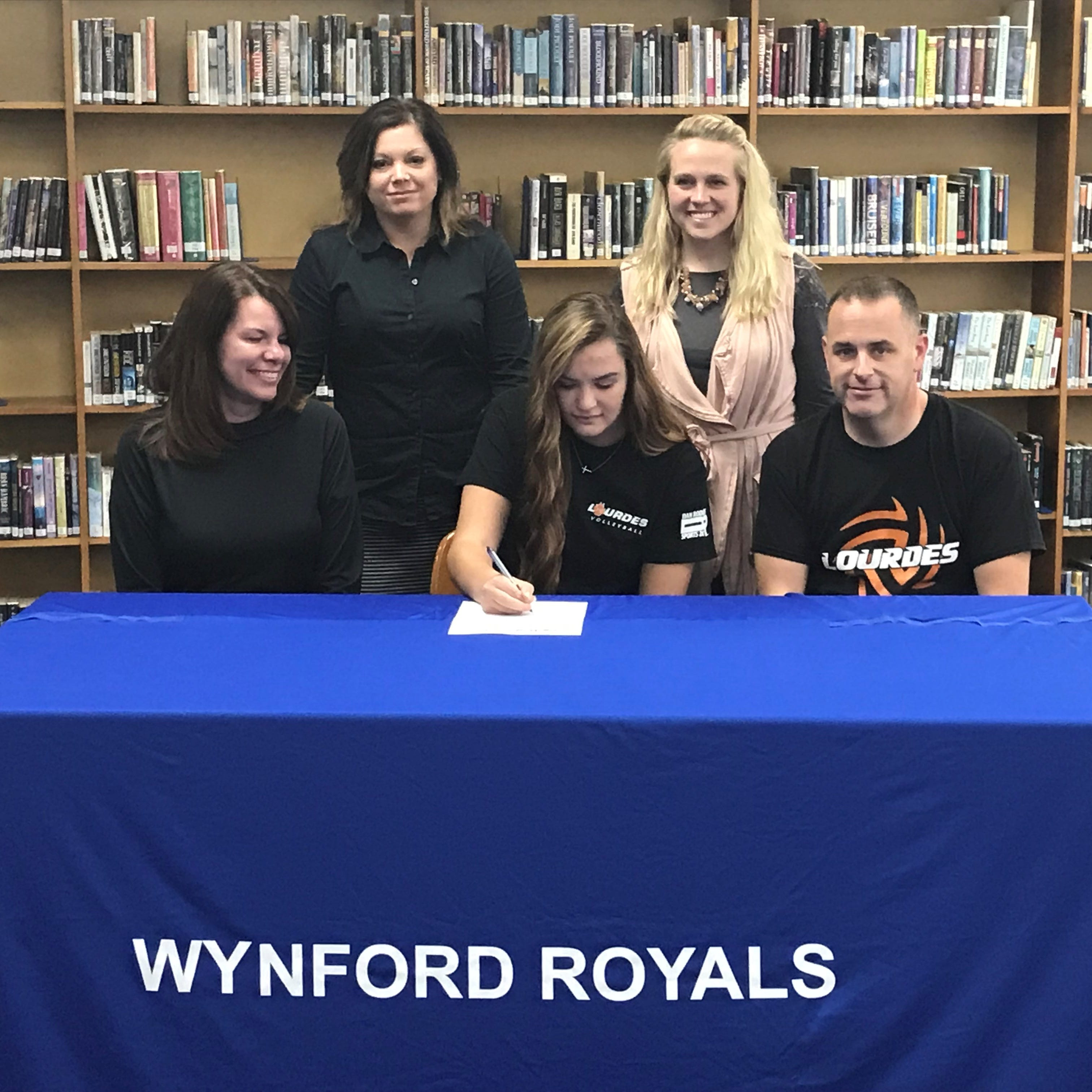 Wynford's Macey Zinser to continue volleyball career at Lourdes University
