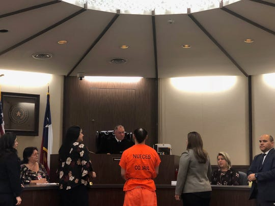 Joseph Tejeda appears in court on Nov. 5, 2018.