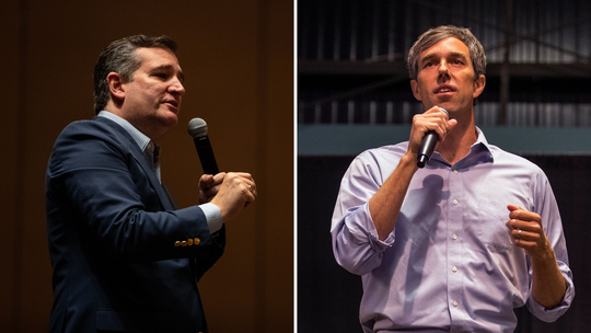 Republican Ted Cruz, left, and Democrat Beto O'Rourke locked horns in one of the nation's most-watched U.S. Senate races of 2018. Cruz won a narrow victory.