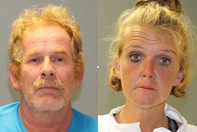 Daniel Waterfield of Lawnside and Amanda Seth of Camden are accused of leaving the body of an overdose victim by the side of a road in rural Southampton.
