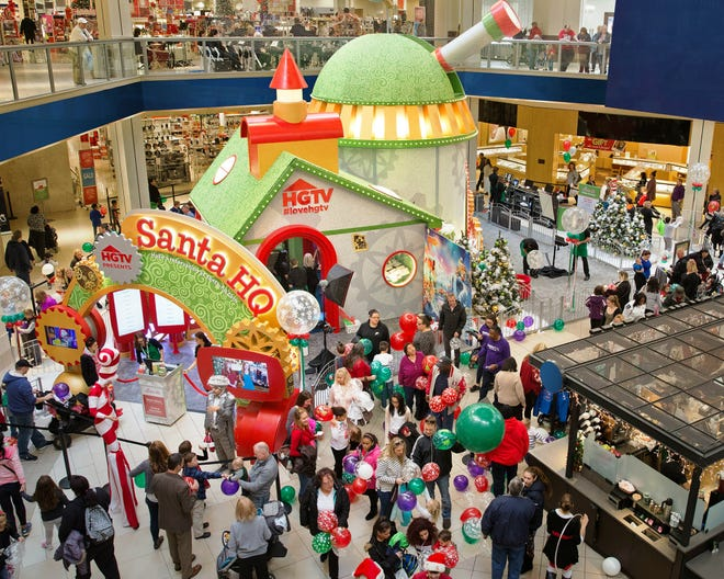 HGTV will partner with 15 sites across the U.S., including the Deptford Mall, for Santa HQ events that use digital technology to enhance the experience.