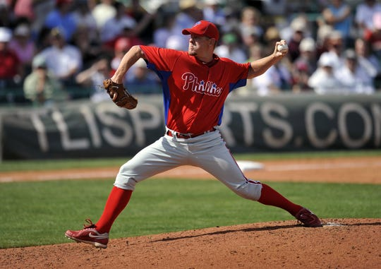 Former Gloucester County pitcher Dan Meyer spent some time with the Phillies organization.