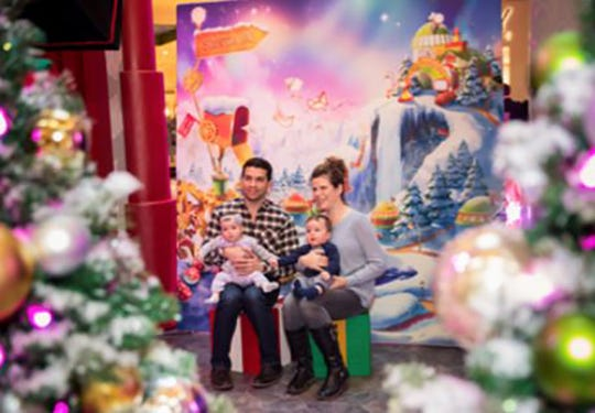 Families can experience both technology and tradition at Santa HQ at the Cherry Hill Mall.