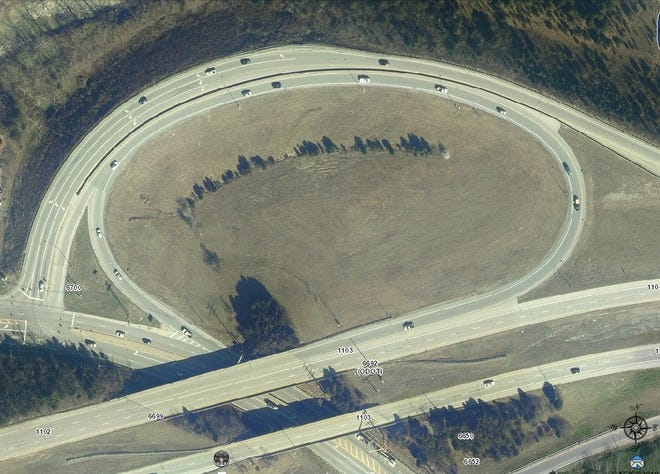 The Rybolt/Harrison exit for westbound Interstate 74 will be closed to repair a landslide.