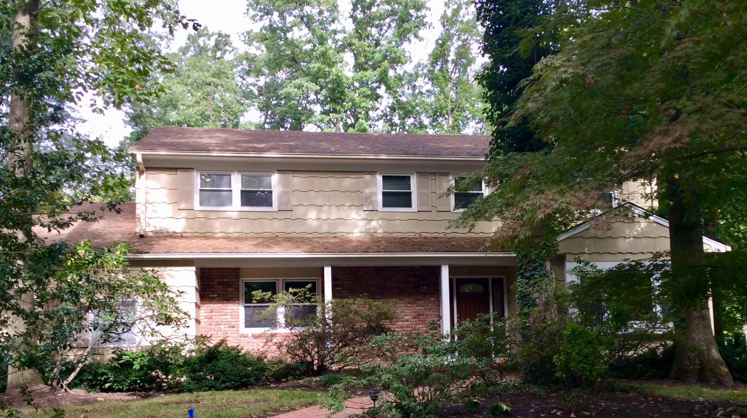 This four-bedroom Colonial is  in the popular Colonial Oaks neighborhood in East Brunswick.