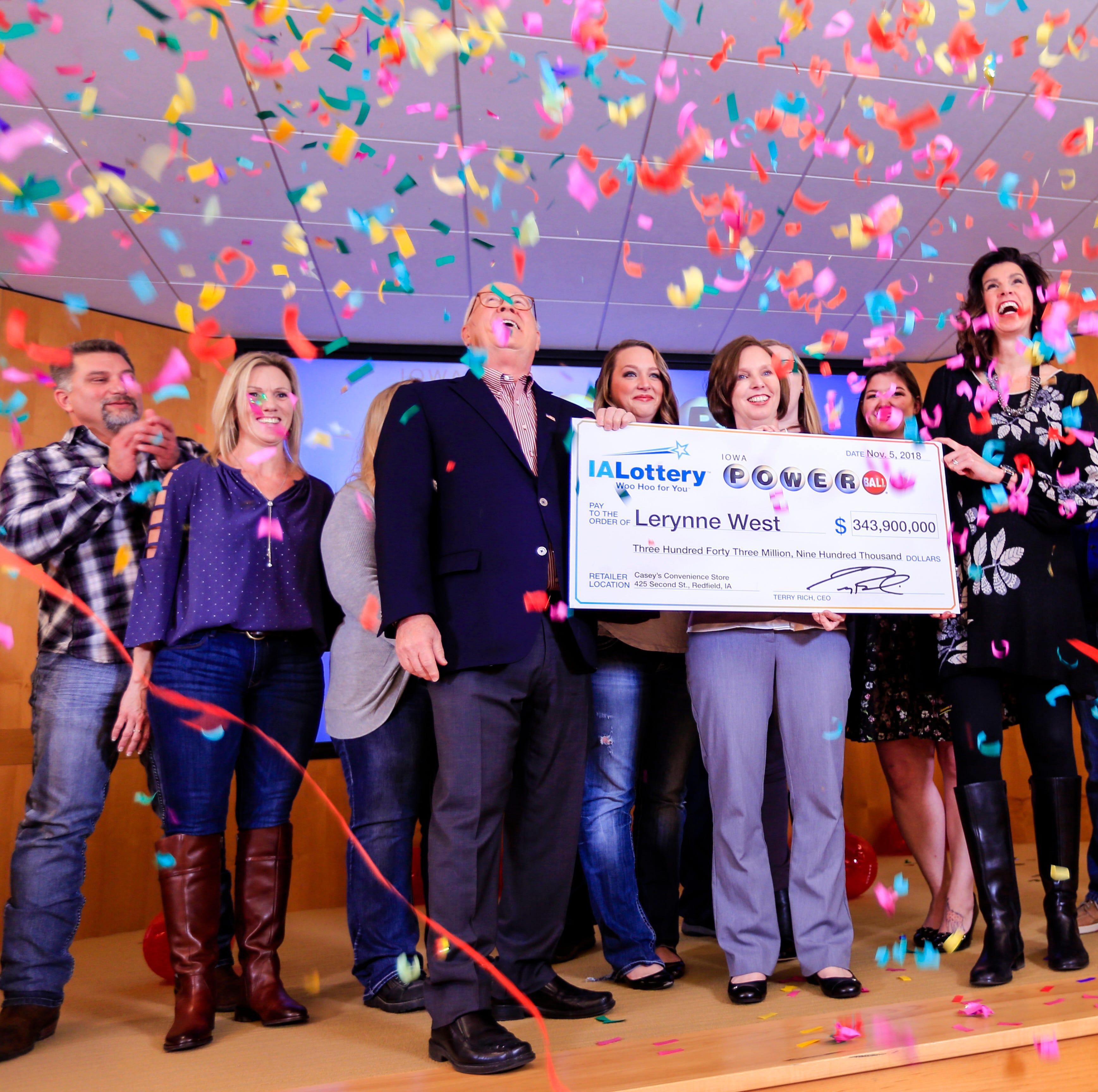 Redfield woman steps forward as Iowa Powerball jackpot winner