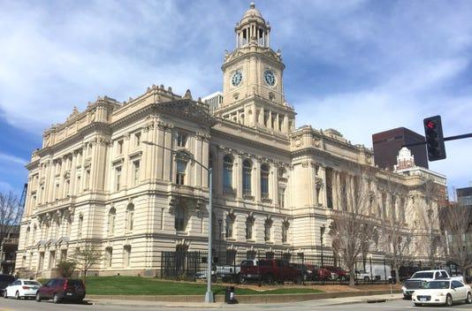 Polk County Courthouse April 7 2017