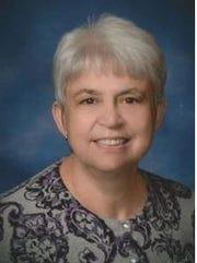 Mary Elgar, secretary of the Iowa Wesleyan Board of Trustees.
