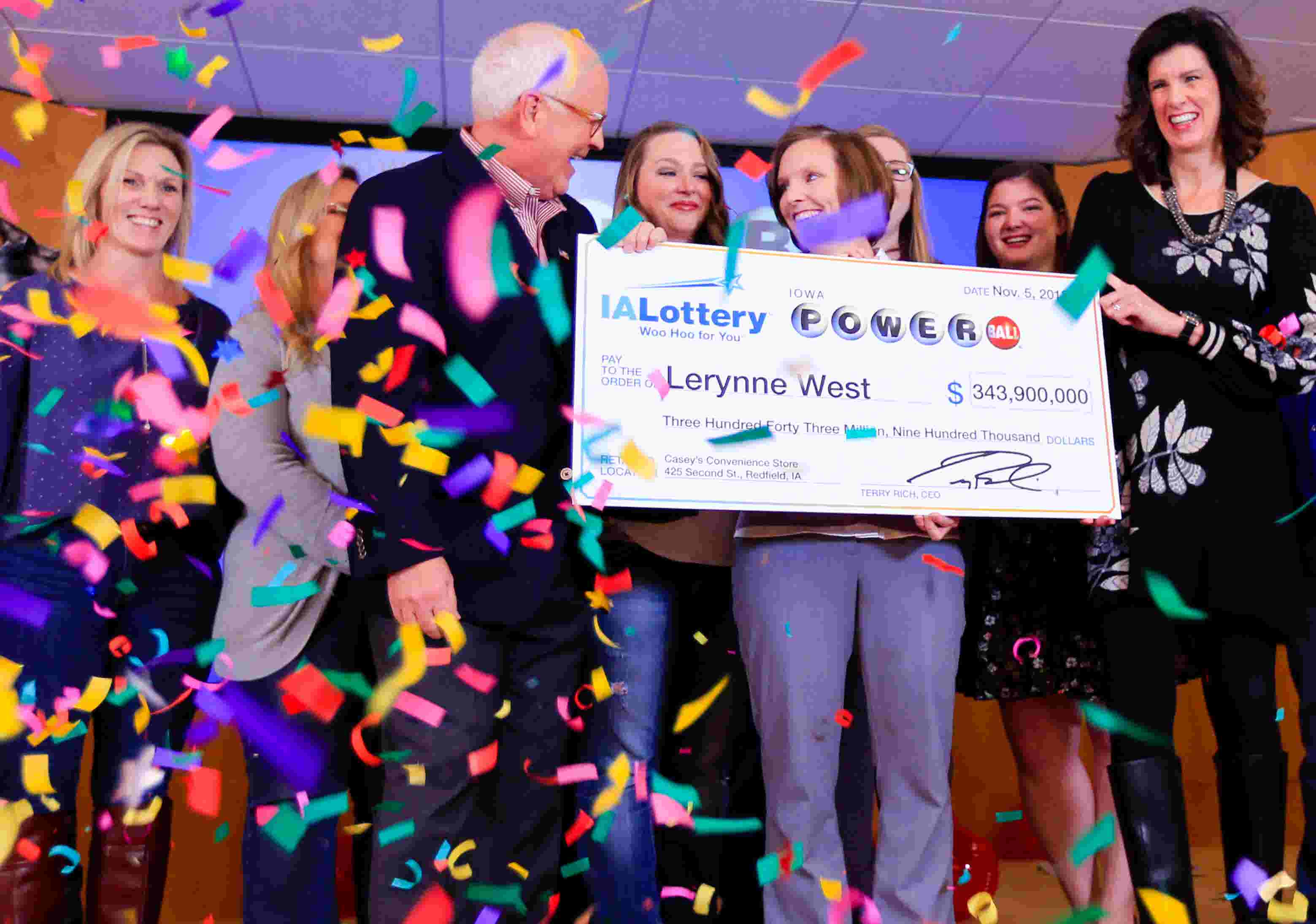 'I have been extremely blessed' Iowa woman wins $343 9 Million Powerball