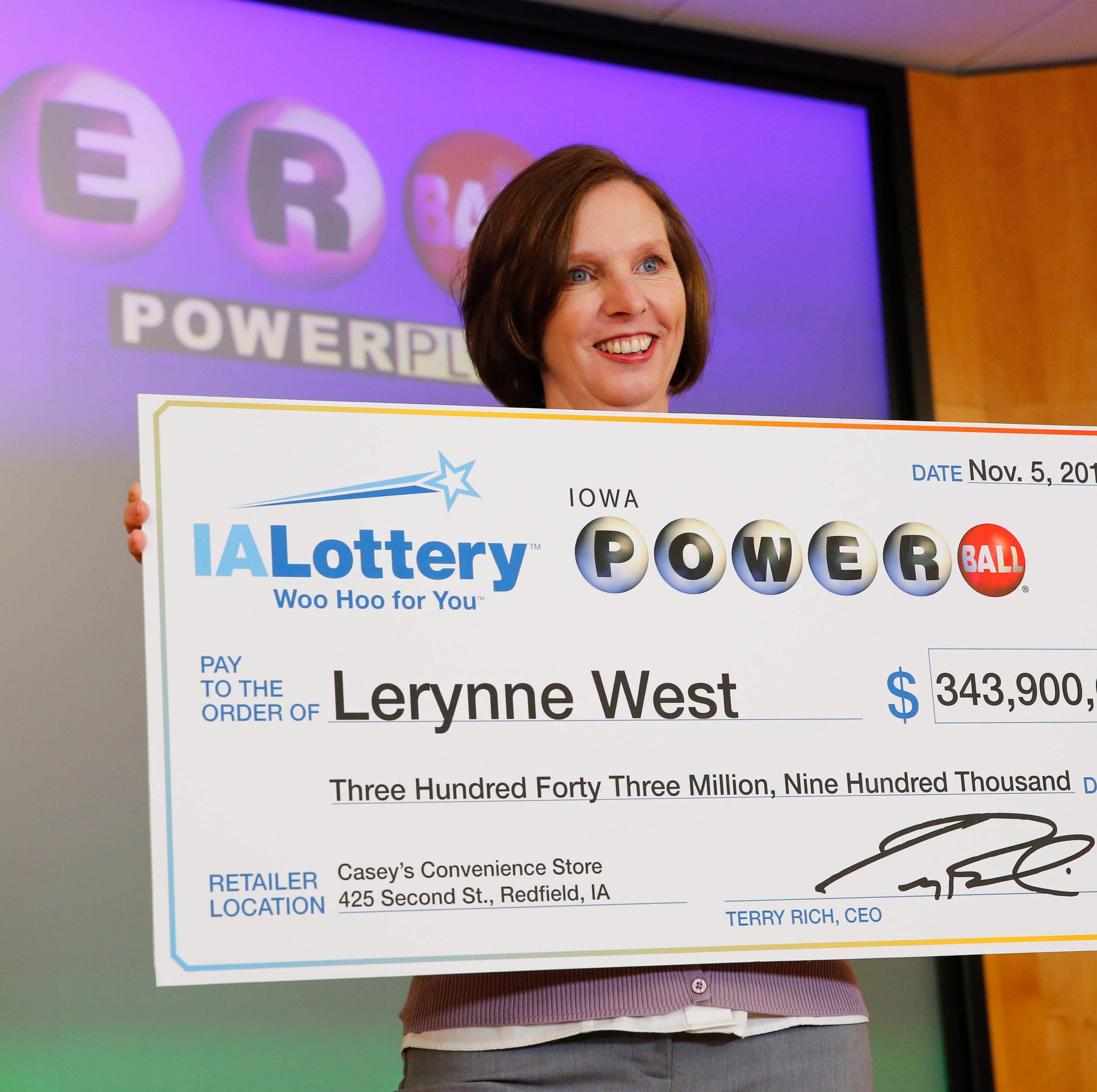 Iowa Powerball jackpot winner left ticket on the floor of her sister's pickup