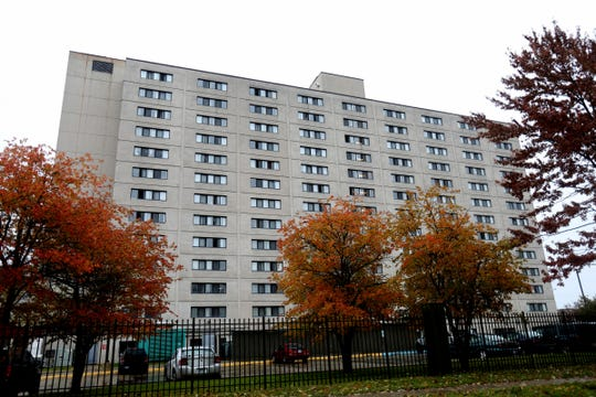 Project Green Light is coming soon to the Sheridan Place apartments in Detroit seen here on Thursday, November 1, 2018.
