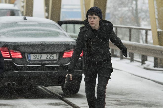 """Claire Foy in """"The Girl in the Spider's Web."""""""