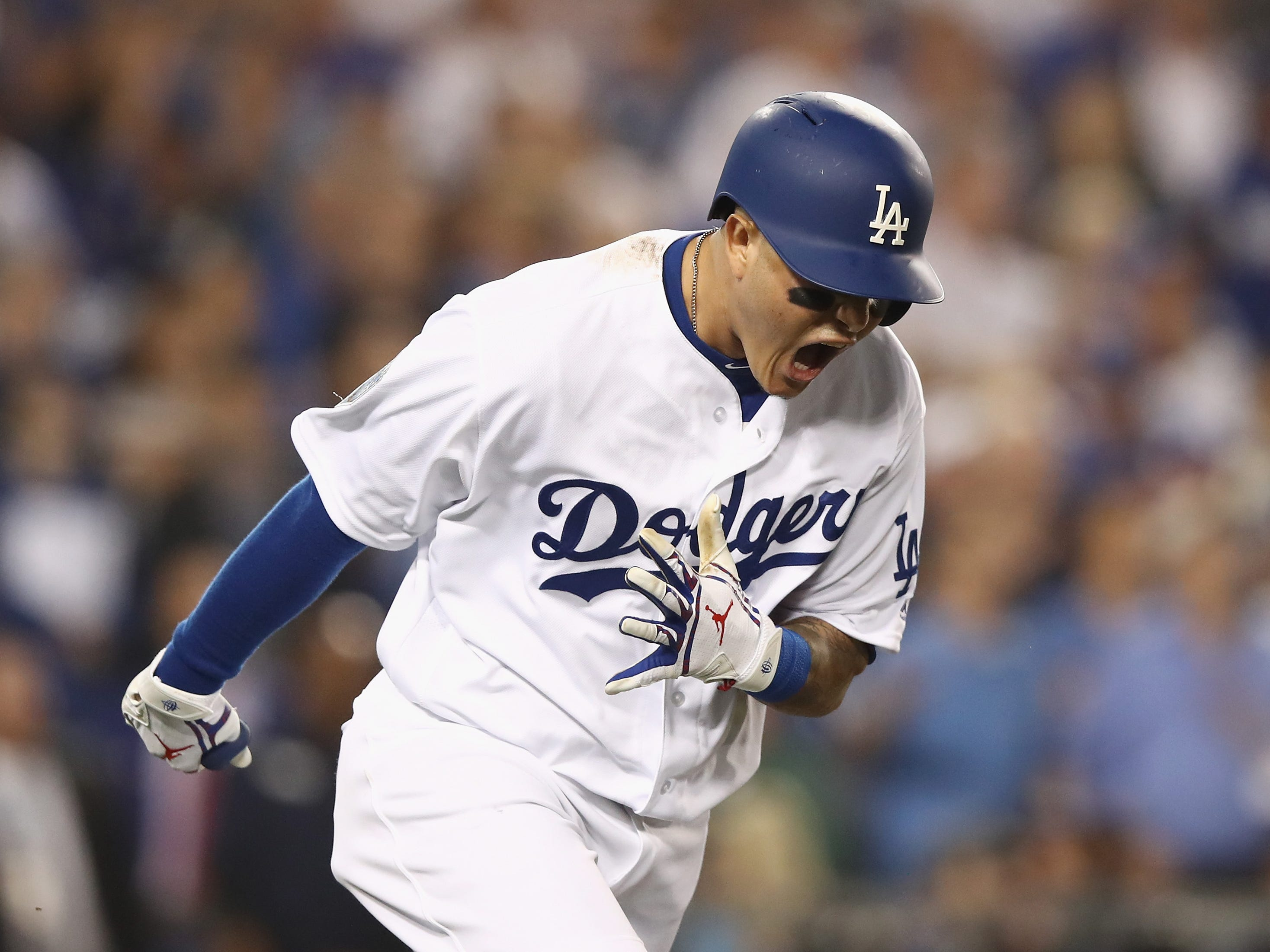 1. Manny Machado, SS/3B, 26: You could go flop 1 and 2 (Bryce Harper) rather easily, but given the positions he can play, Machado is just a notch above and is headed for a massive payday, provided there's at least one team that looks past his perceived disinterest at times during his stint with the Dodgers. Prediction: Yankees, eight years, $242 million