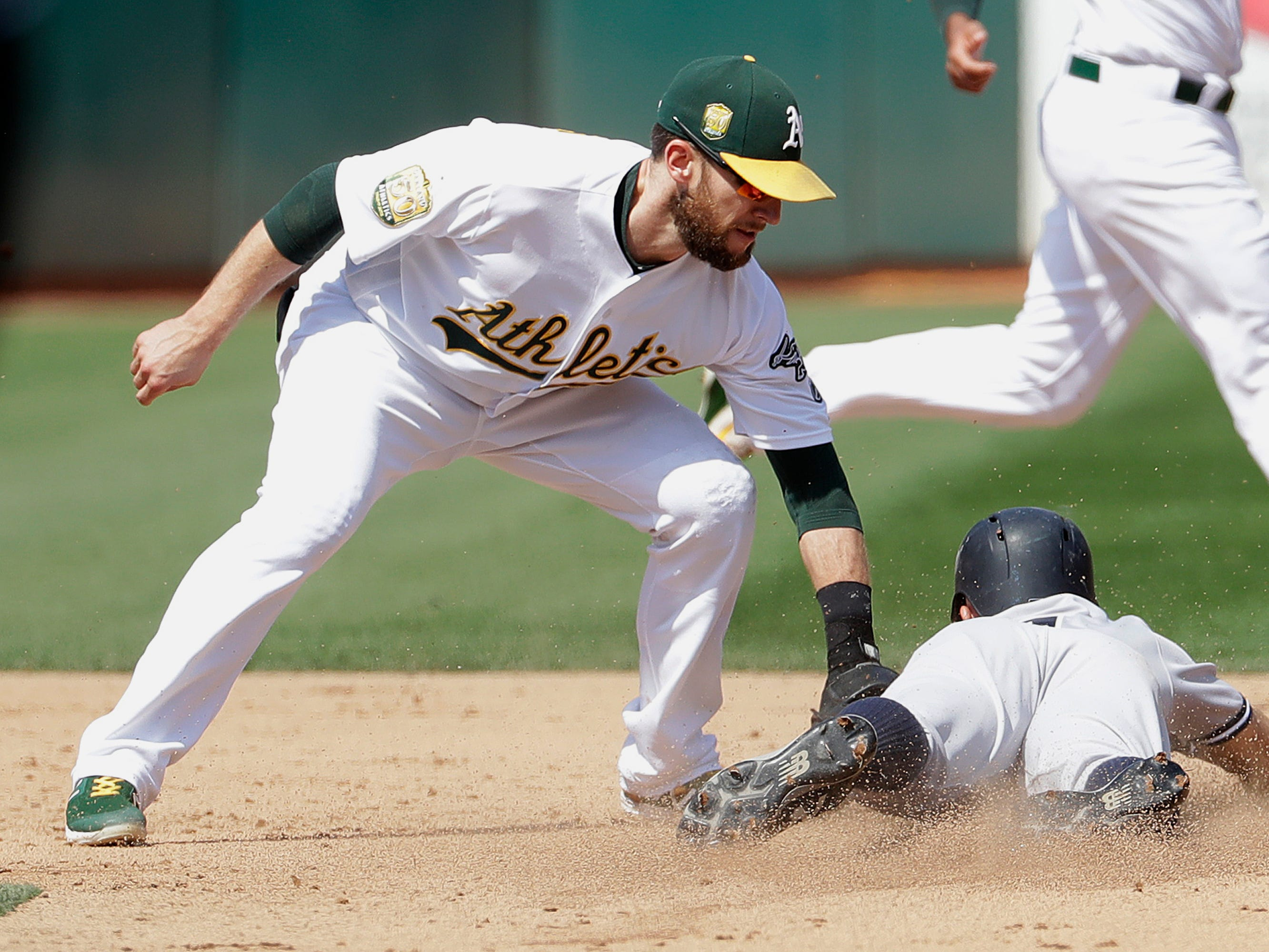 13. Jed Lowrie, 2B, 35: At age 34, the veteran infielder posted his best season yet, with personal-bests in homers (23) and RBIs (99). Few noticed, because he did it in Oakland. Prediction: A's, three years, $23 million