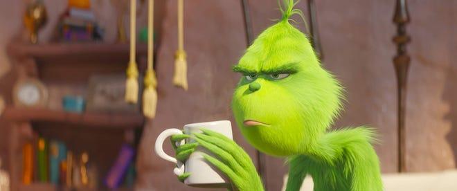 "Benedict Cumberbatch voices ""The Grinch."""
