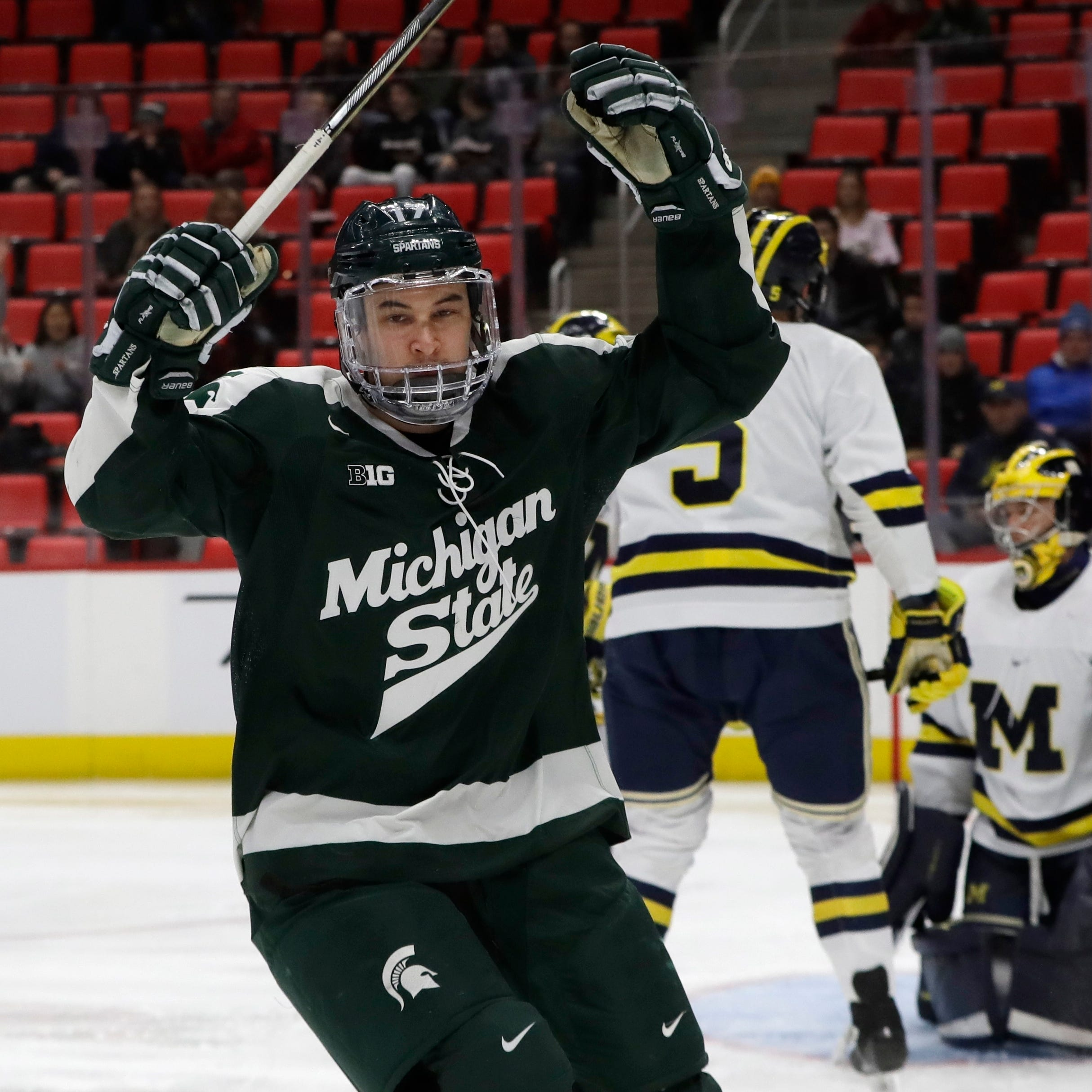 Red Wings sign Michigan State's Taro Hirose, Princeton's Ryan Kuffner as undrafted free agents