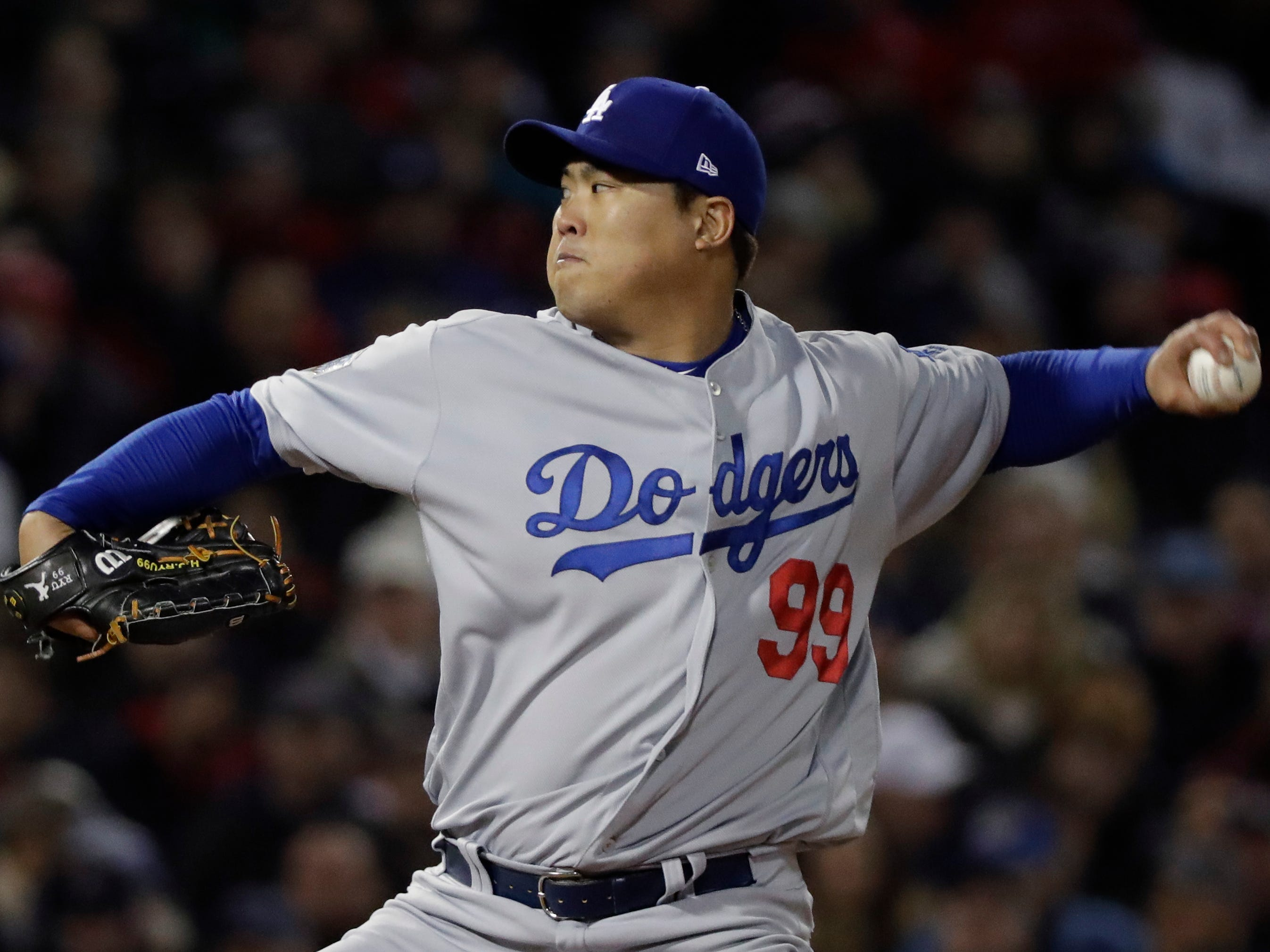 16. Hyun-Jin Ryu, SP, 32: Injuries have plagued the Korean left-hander, including a groin issue this year. But when he was healthy, he was absolutely electric, hence the qualifying offer. Prediction: Mariners, three years, $31 million. UPDATE: Dodgers, one year, $17.9 million.