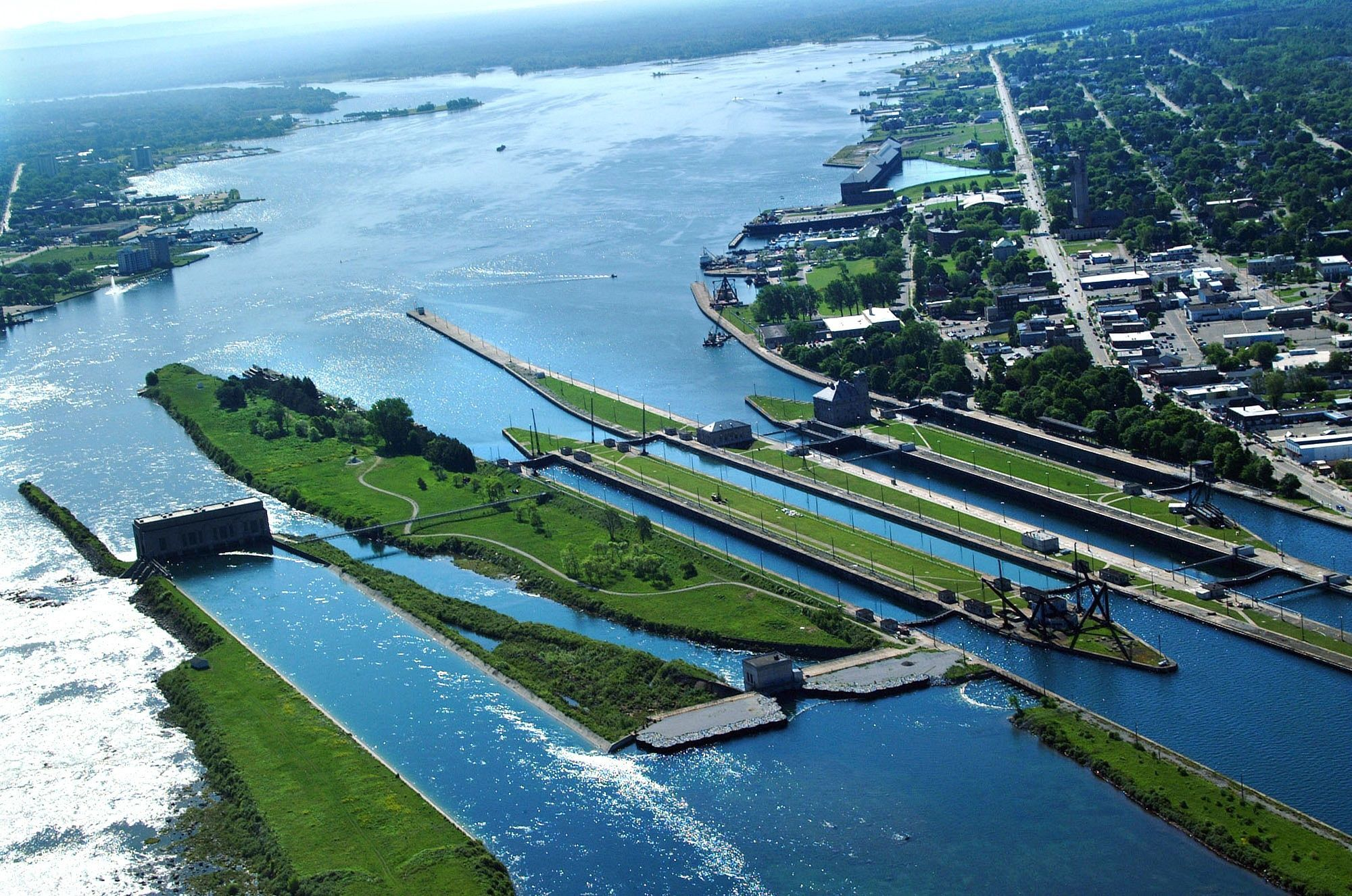 A new shipping lock in Sault Ste. Marie was first authorized by Congress in 1986 but was then stalled for decades.