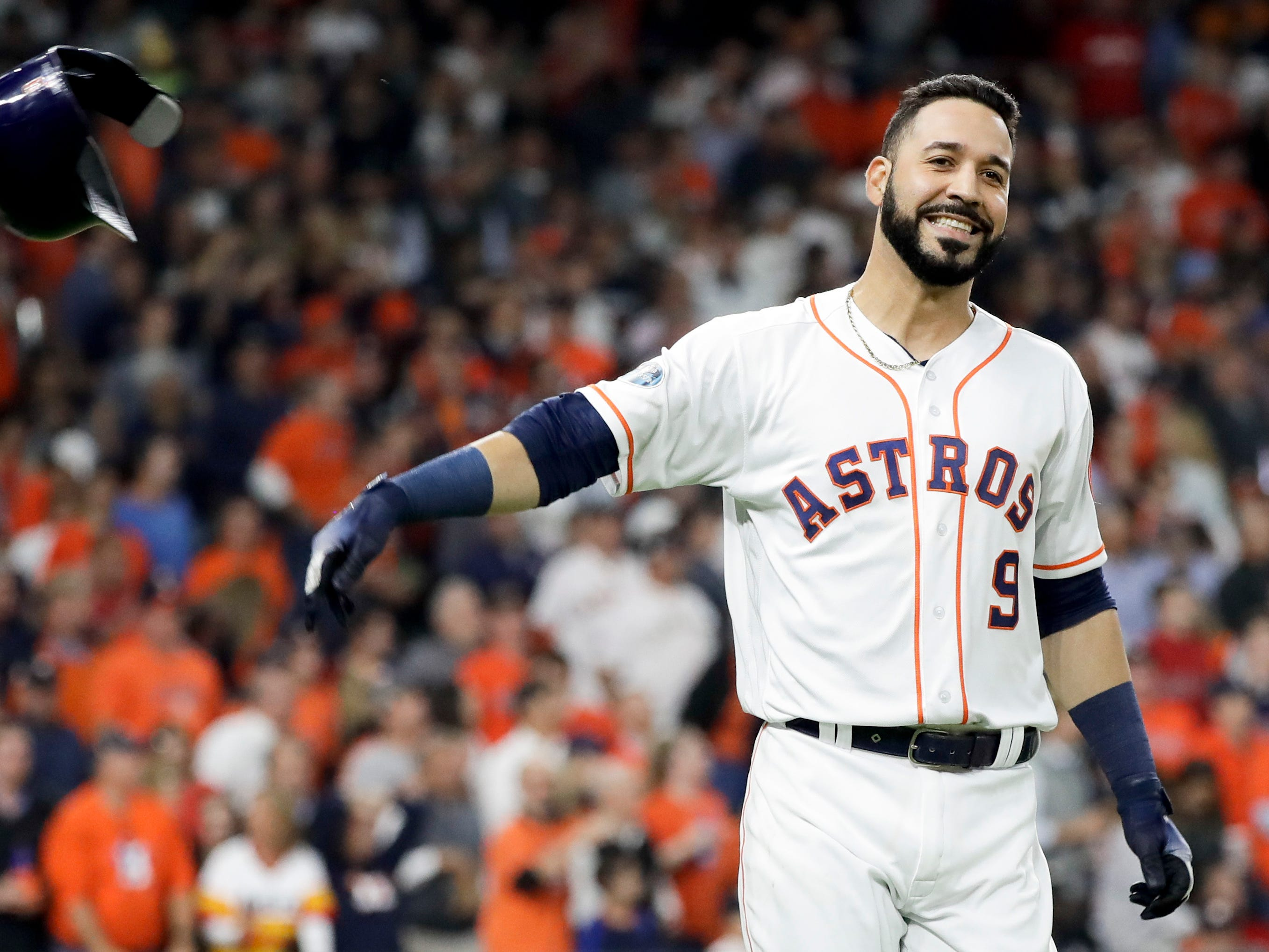 20. Marwin Gonzalez, UT, 30: The Swiss Army knife of this year's free-agent class, he can play all over the diamond, particularly the outfield and shortstop, and can hit to boot. Prediction: Indians, four years, $35 million