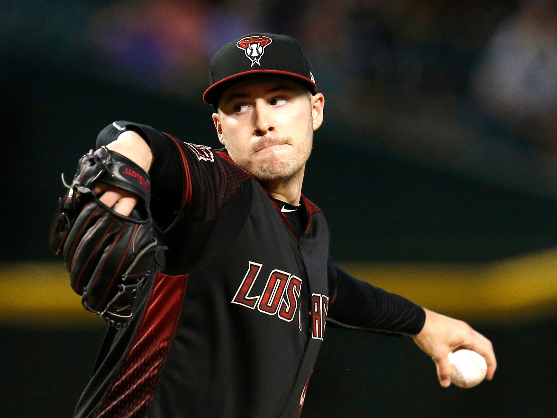 4. Patrick Corbin, SP, 29: The left-hander's sixth year in the majors was, easily, his best, another case of great timing. He had career-bests in hits per nine innings (7.3) and K's (246), earning a $17.9 million qualifying offer. But he's almost certainly moving on. Prediction: Yankees, five years, $81 million. UPDATE: Nationals, six years, $140 million.