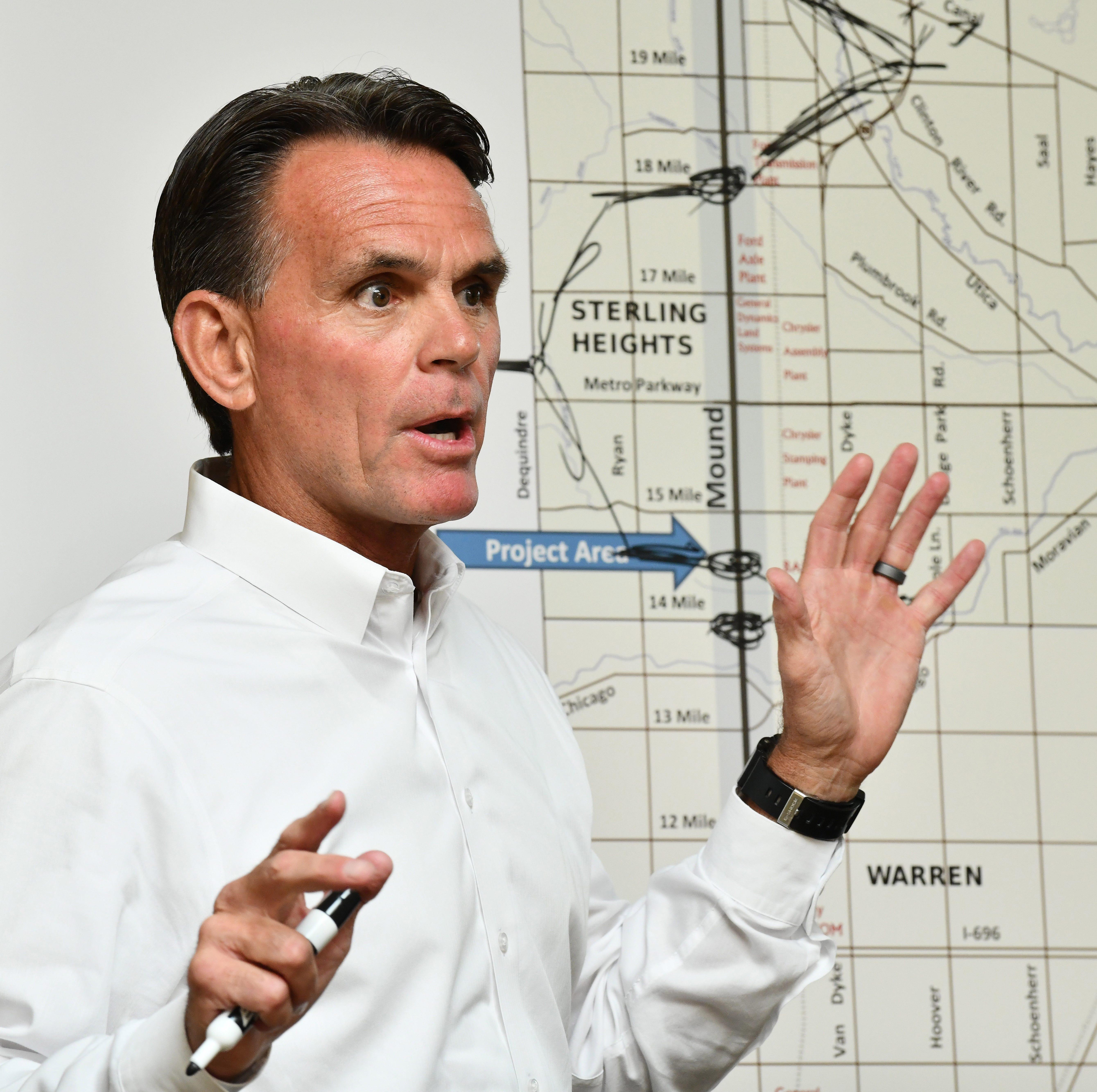 Macomb County Executive Mark Hackel is seeking a third term.