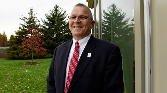 Ron Schumacher, interim president of Terra State Community College.