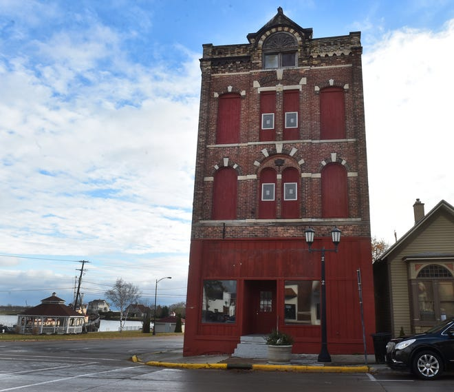 The 137-year-old, former Selner Plumbing & Heating building in Kewaunee is being renovated for business/commercial/residential space.
