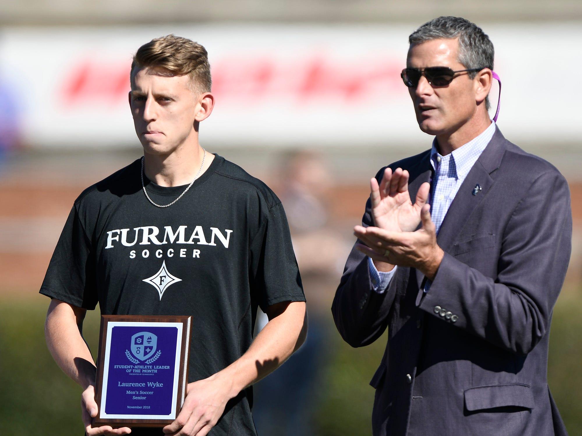 Furman hosts Chattanooga Saturday, November 3, 2018, at Paladin Stadium.