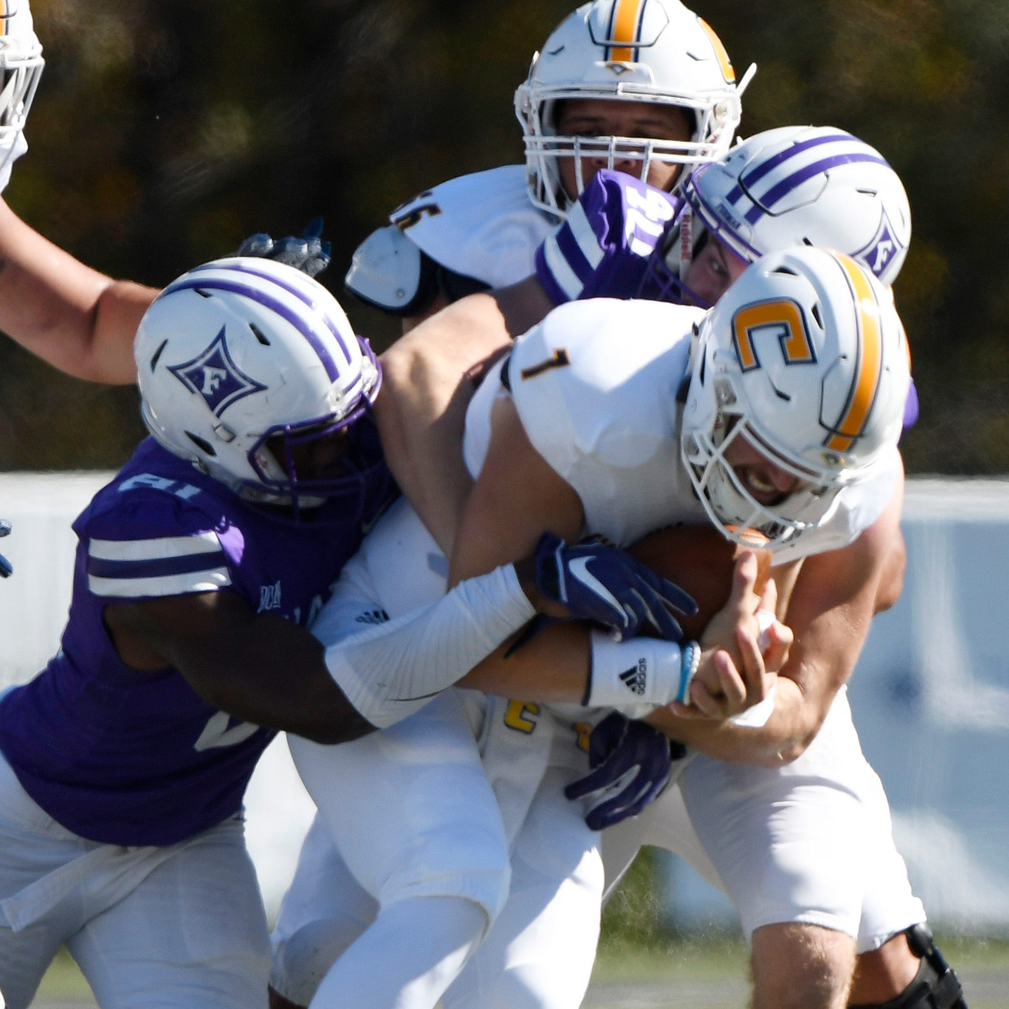 Furman football coach Clay Hendrix calls playoff exclusion 'shocking'