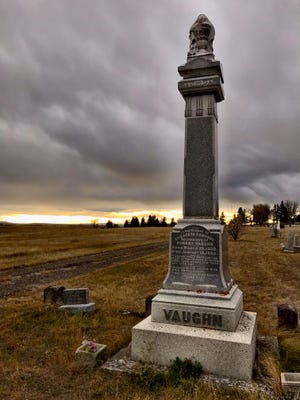 Here lies a suffragist, Elizabeth Donohue Vaughn, who pushed for Montana's nearly successful 1895 push for women's suffrage. She's buried in the Old Highland Cemetery, adjacent to Highland Cemetery in the southeast corner.