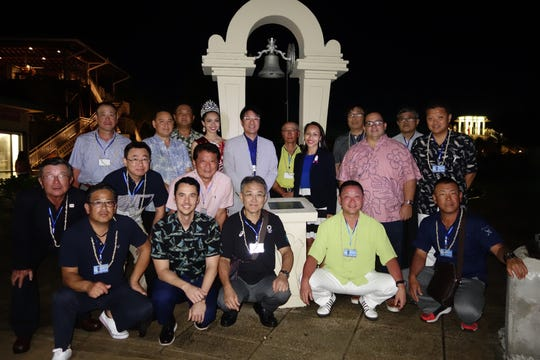 Delegations from Guam and Japan came together on October 26 to celebrate the 30th anniversary of the sister point agreement between Guam and Izu City.