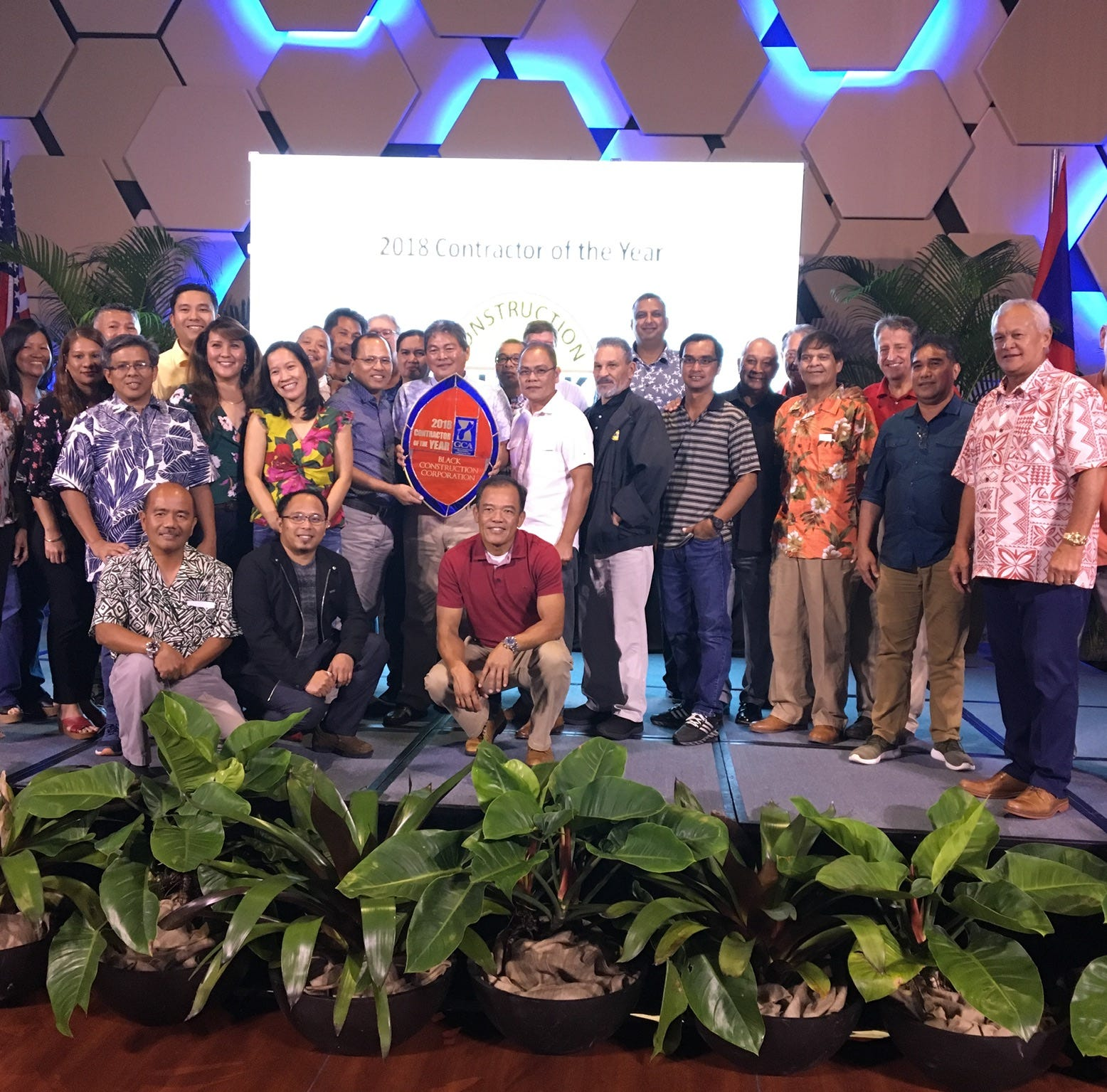 Black Construction Corporation sweeps Guam Contractors Association Awards