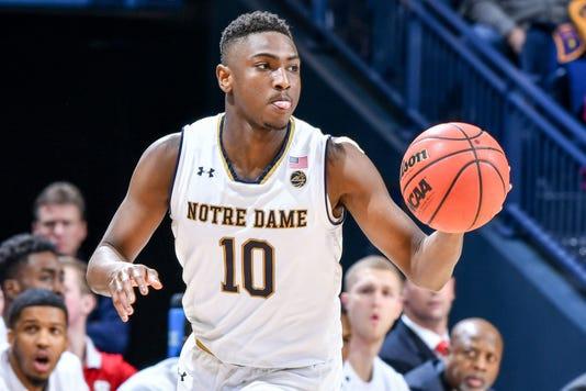 Ncaa Basketball North Carolina State At Notre Dame