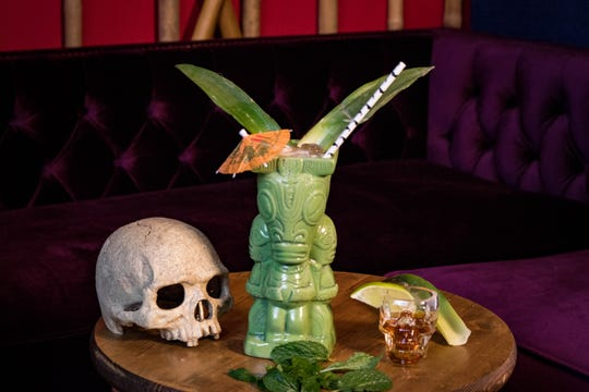Expect tiki-style tequila cocktails and over-the-top Spam sliders at TikiTiki Lounge. The basement bar opens Nov. 9, 2018, at 1001 Broad Ripple Ave., Indianapolis.
