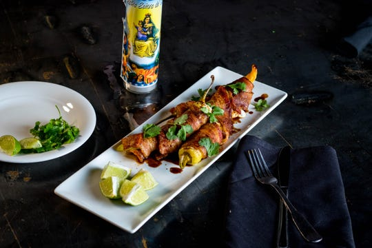 Starters at Cholita also include Toritos, yellow chilies stuffed with four Mexican cheeses and wrapped in bacon. The restaurant opens Nov. 9, 2018, at 1001 Broad Ripple Ave., Indianapolis.