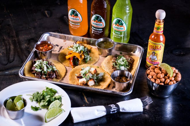 Assorted tacos on housemade, fresh masa tortillas at Cholita. The Mexican restaurant opens Nov. 9, 2018, at 1001 Broad Ripple Ave., Indianapolis.