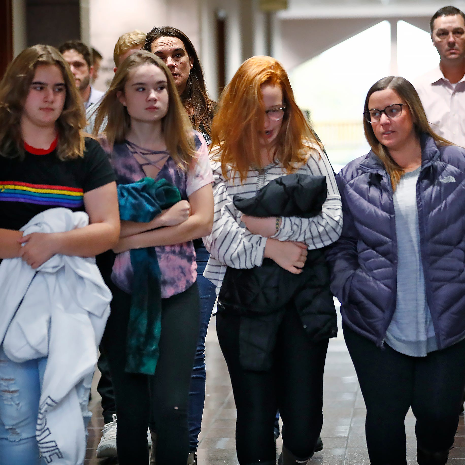Noblesville school shooter sent to juvenile jail: 'You took this community's sense of safety'