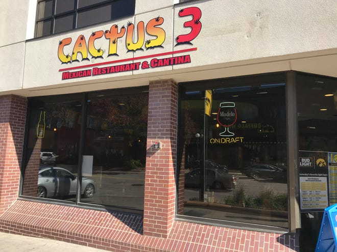 Cactus 3 is shown in downtown Iowa City on Oct. 17, 2018.