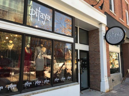 Pitaya is shown in downtown Iowa City on Oct. 17, 2018.